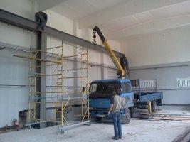 Использование крана манипулятора на строительных объектах3