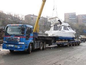 перевозка лодок